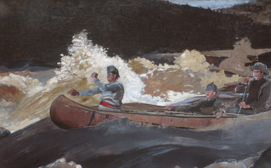 Winslow Homer - Shooting the Rapids Saguenay River