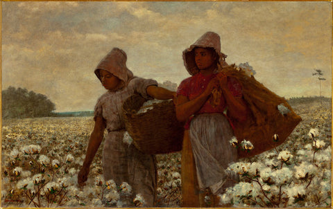 Winslow Homer - The Cotton Pickers