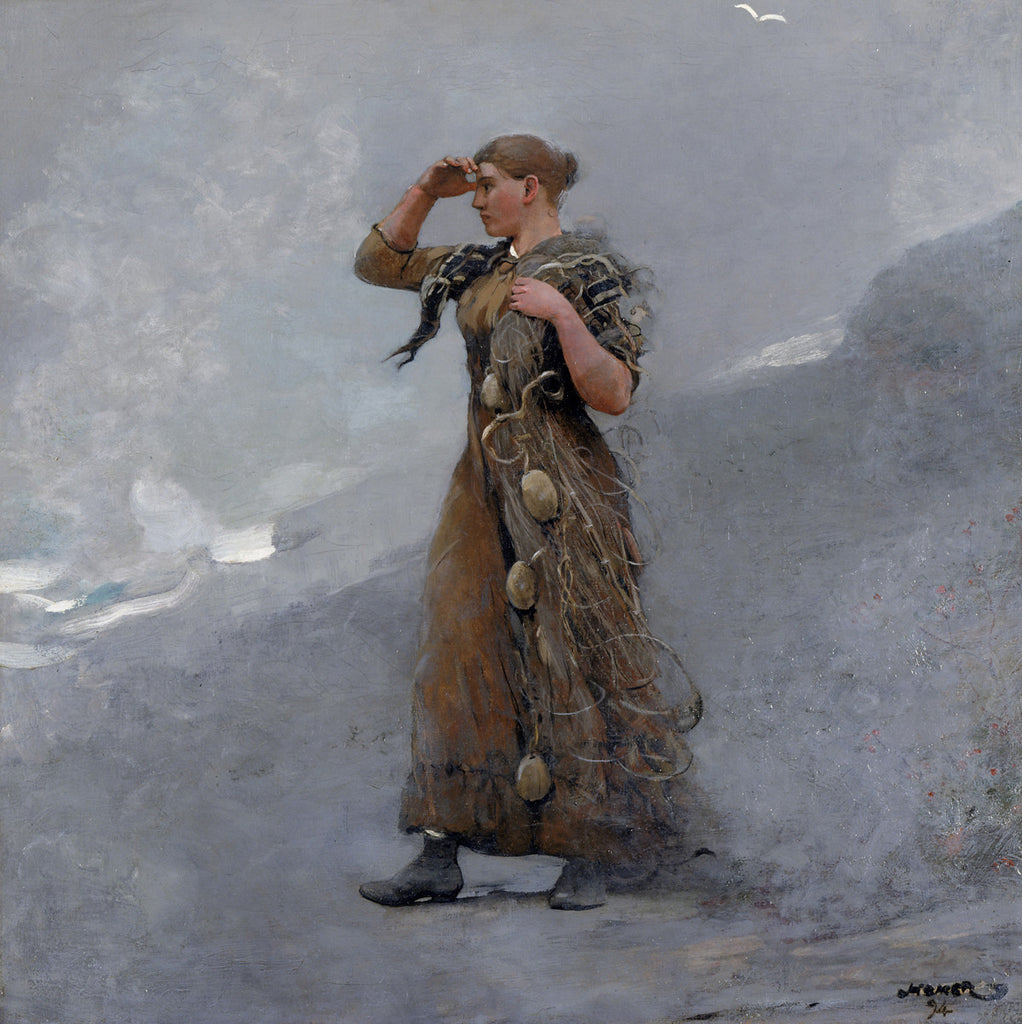 Winslow Homer - The Fisher Girl