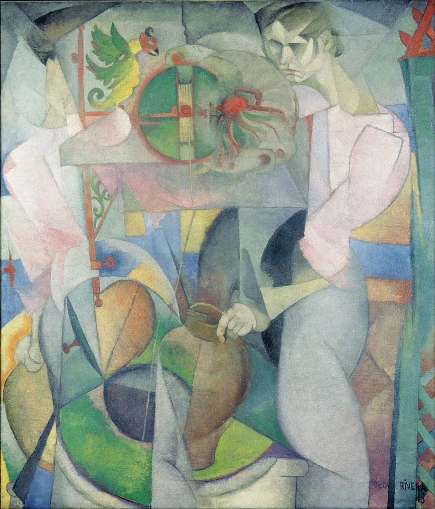 Diego Rivera - Woman at a Well