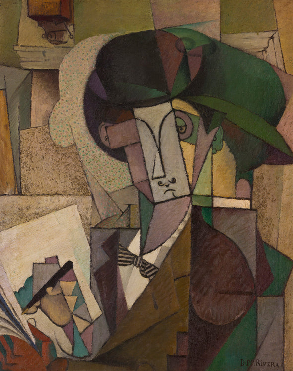 Diego Rivera - Young Man with a Fountain Pen