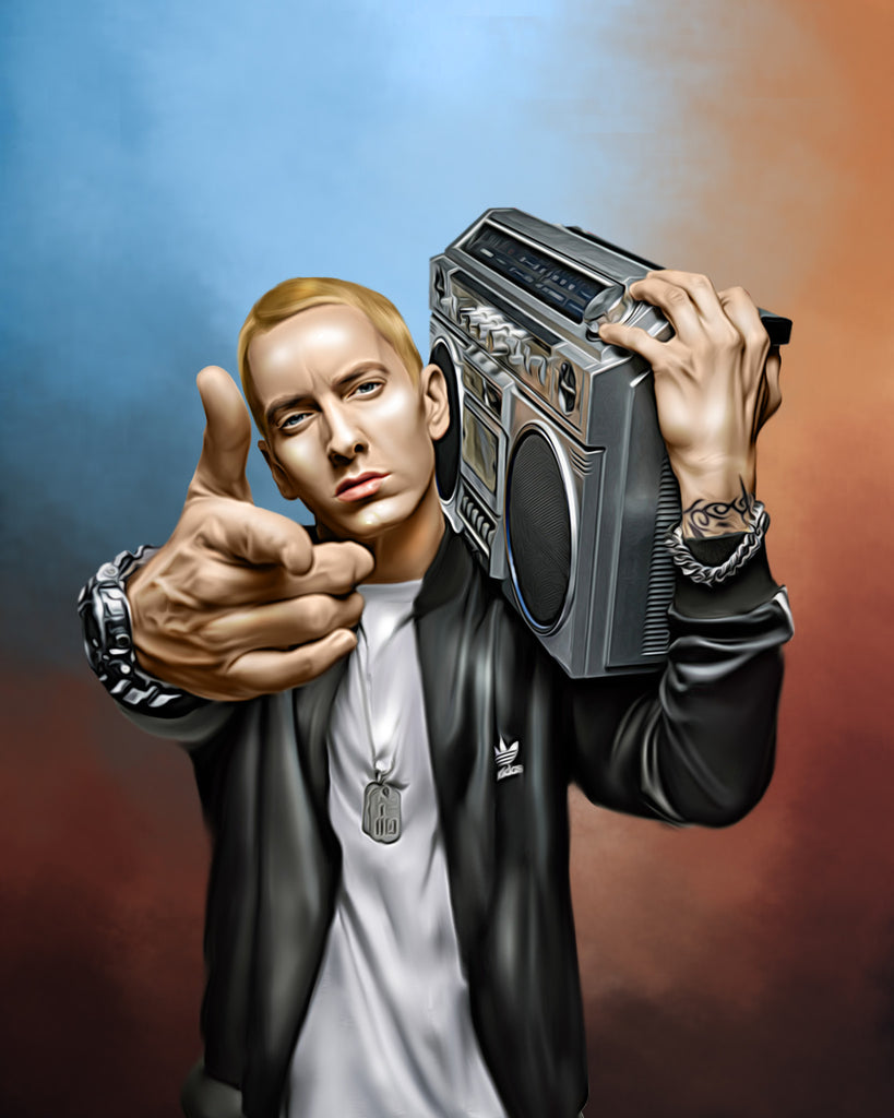 Eminem Digital Painting - Get Custom Art