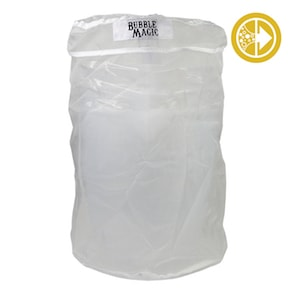 BUBBLE MAGIC 5 Gallon 220 Micron Washing Bag w/ Zipper