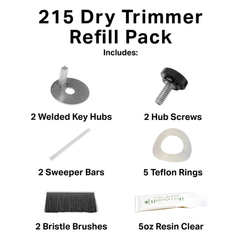 GreenBroz 215 Dry Trimmer Refill Pack