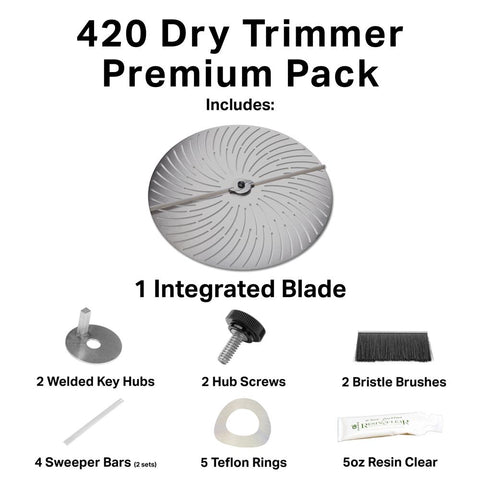 GreenBroz 420 Dry Trimmer Premium Pack