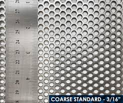 MOBIUS COARSE STANDARD MILLING SCREEN – 3/16""