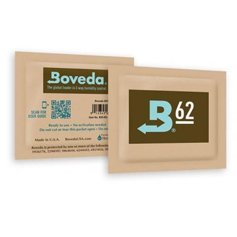 BULK BOVEDA BOXES 62% RH 67 GRAM PACKS (100 Pack)