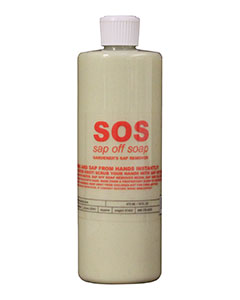 SOS (sap off soap) 16 fl oz Gardeners Sap Remover