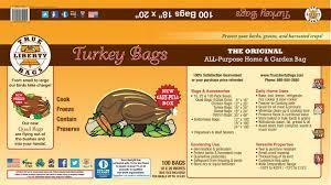 Turkey Bags 100 Pack -