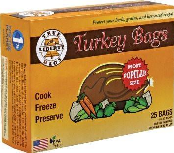 TRUE LIBERTY 3 Gallon Bags (Turkey Bags) 25-Pack
