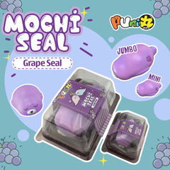Puni Maru GRAPE Mochi Seal! Scented! JUMBO or MINI!