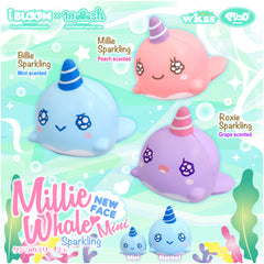 MINI iBloom SCENTED Millie Whale Sparkling!!!