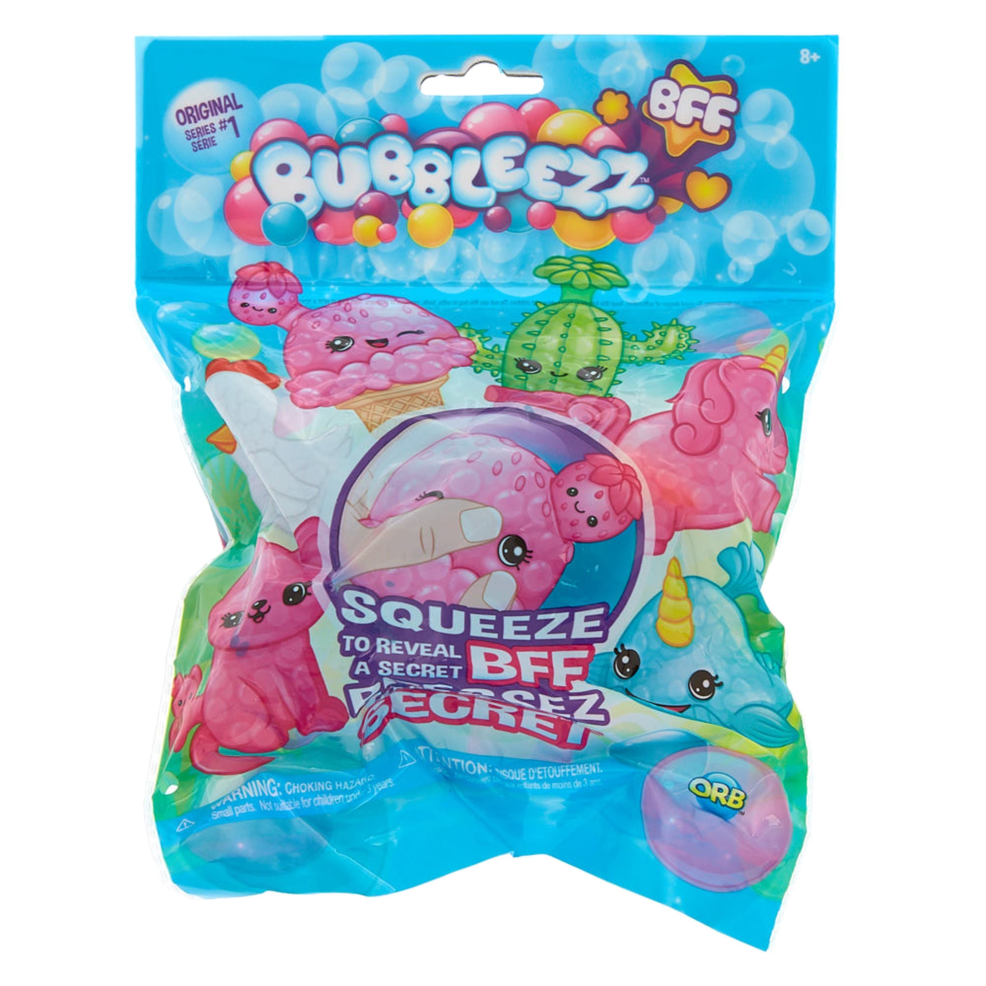 ORB Bubbleezz BFF Mystery Pack!! Series 1! BIG JELLY BEADS SQUISHY!