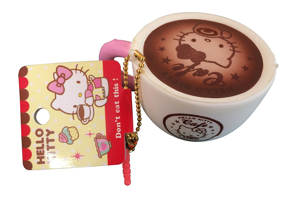 Squishy Hello Kitty Cafe Latte Coffee Cup!