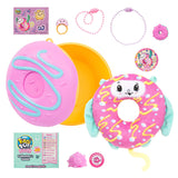 Pikmi Pops DoughMis Series Surprise Pack - 1pc Collectible Scented Medium Plush Toy in Medium Donut with Surprises!!