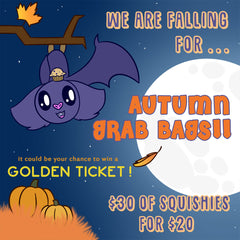 Autumn GRAB BAG of 2 LICENSED Squishies!