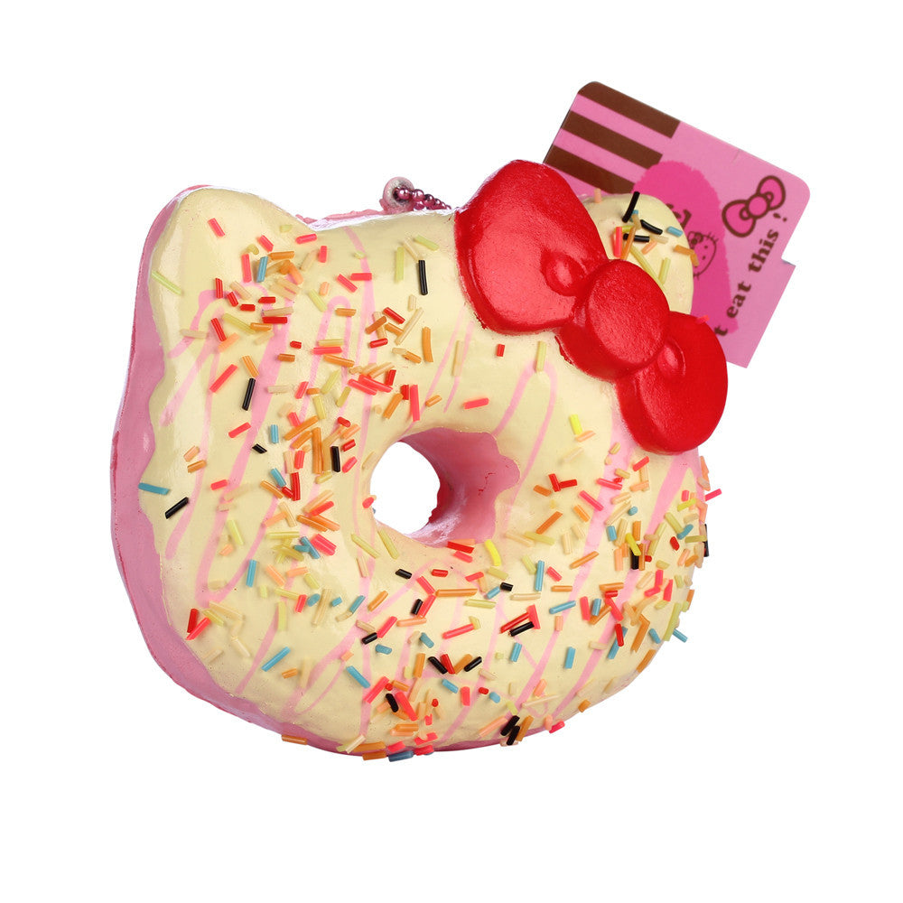 Licensed Hello Kitty Jumbo Donut in White, Purple or Pink!