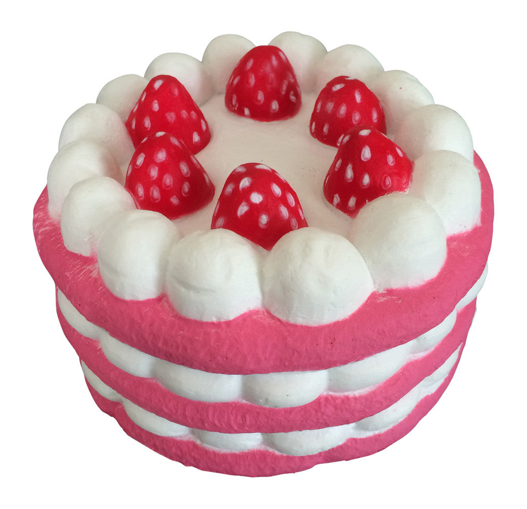 Squishy, Slow Rise SCENTED Eric JUMBO Strawberry MARSHMALLOW Cake! Jenna Lyn Squishies and ...