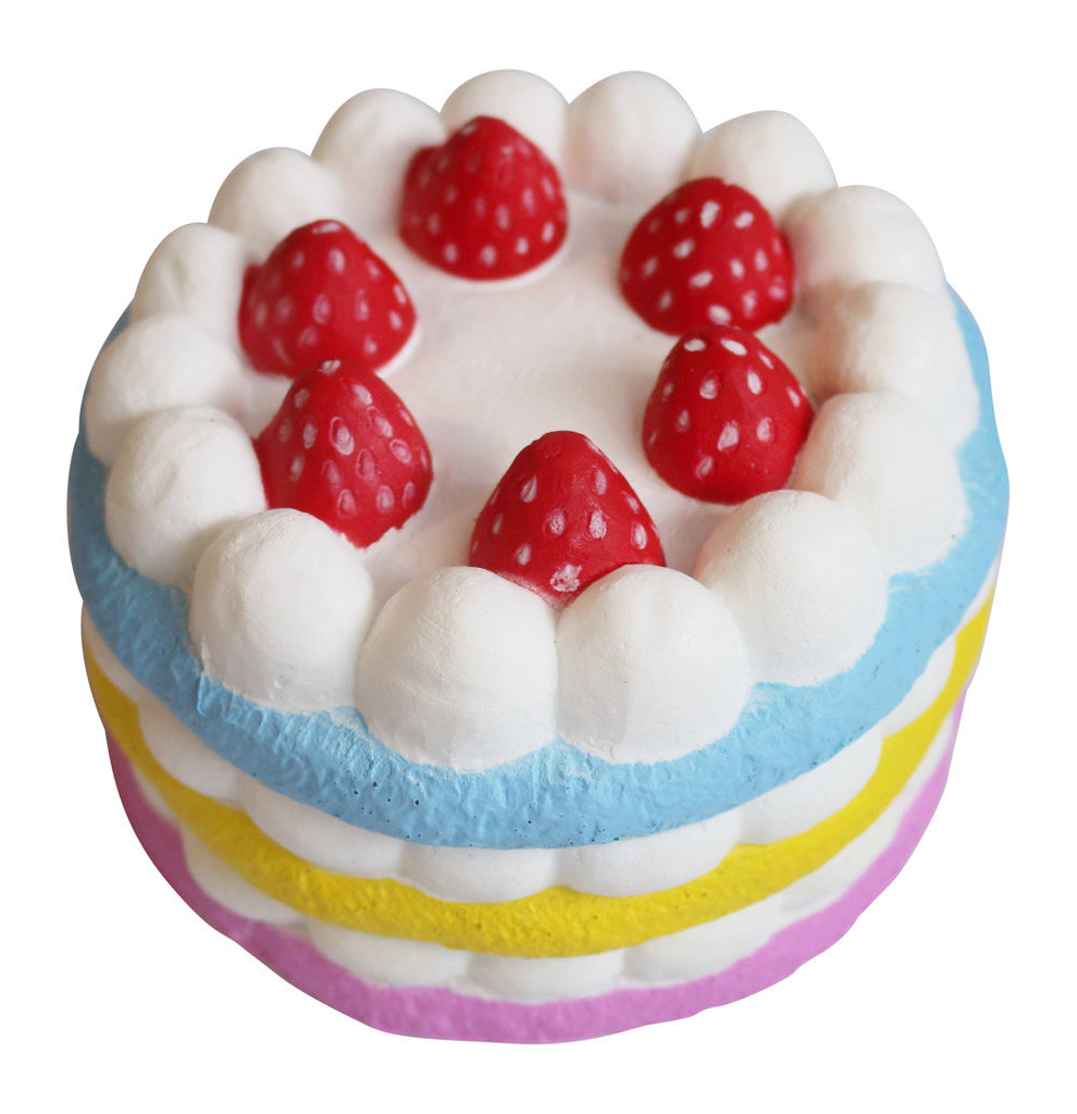 Areedy Strawberry Cake Squishy