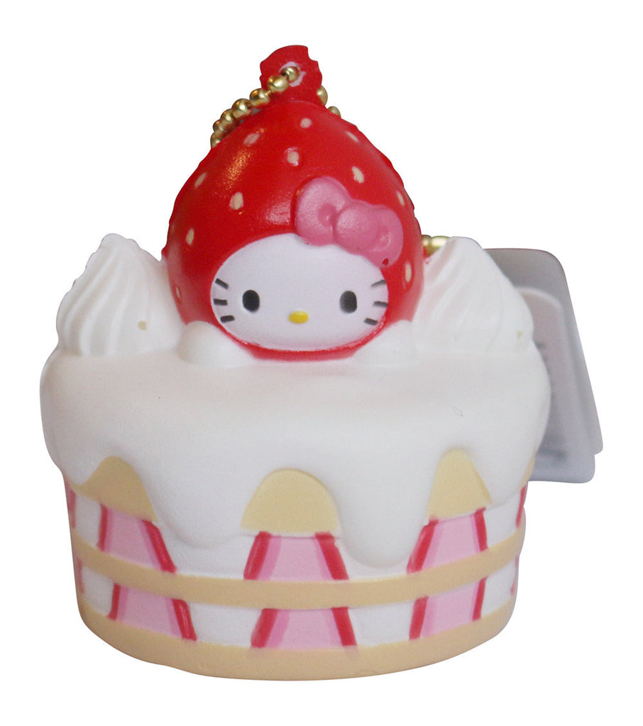 Squishy Hello Kitty Lovely Sweets Strawberry Shortcake!