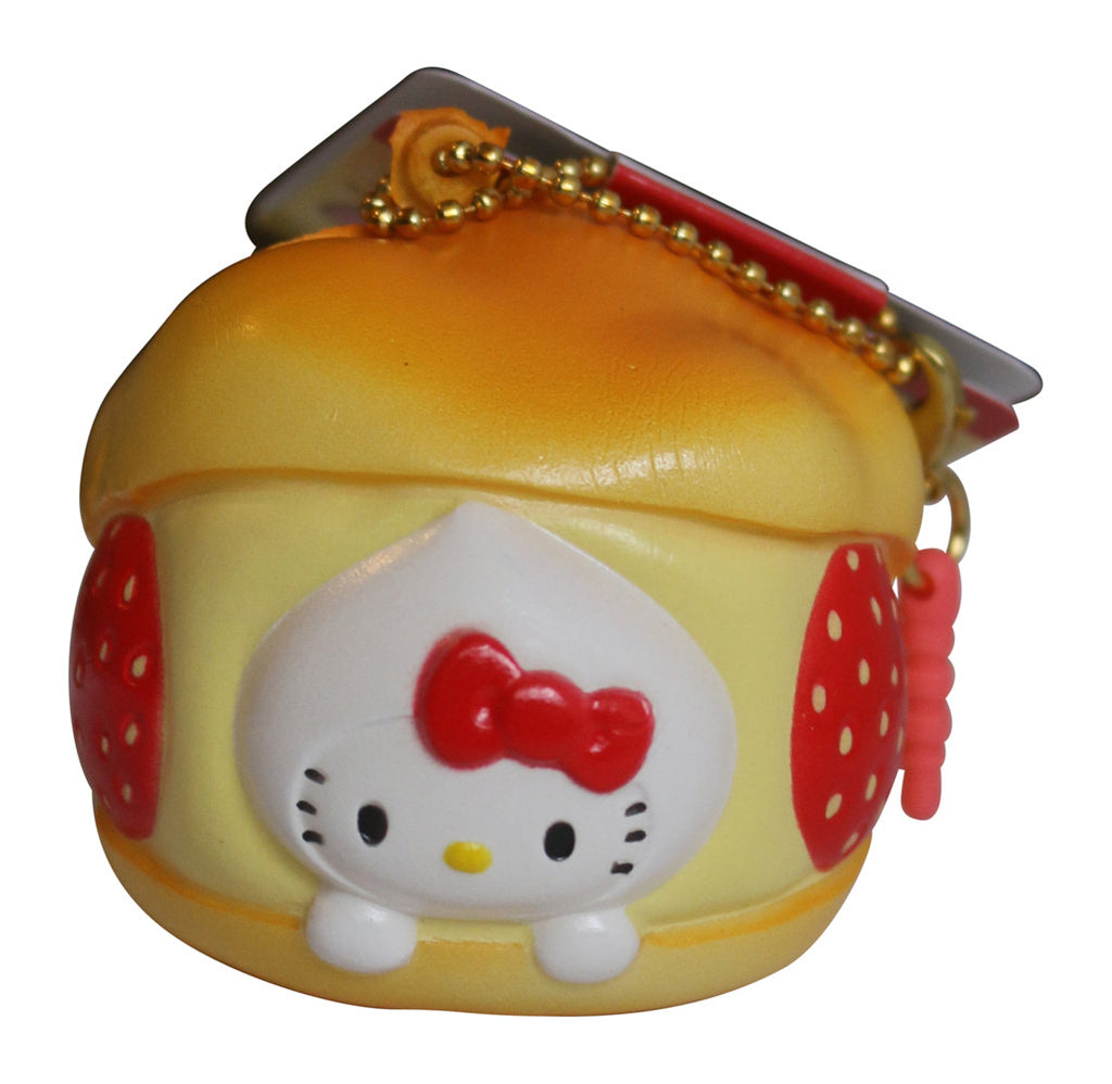Squishy Hello Kitty Lovely Sweets Strawberry Cream Puff!