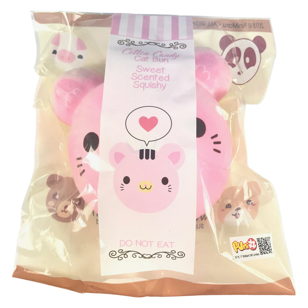 Squishy Cat With Butter : Jumbo Animal Bun SCENTED Squishy! Jenna Lyn Squishies and Accessories