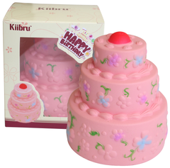 SUPER Slow Rise Kiibru 3 Tier SCENTED Birthday Cake!