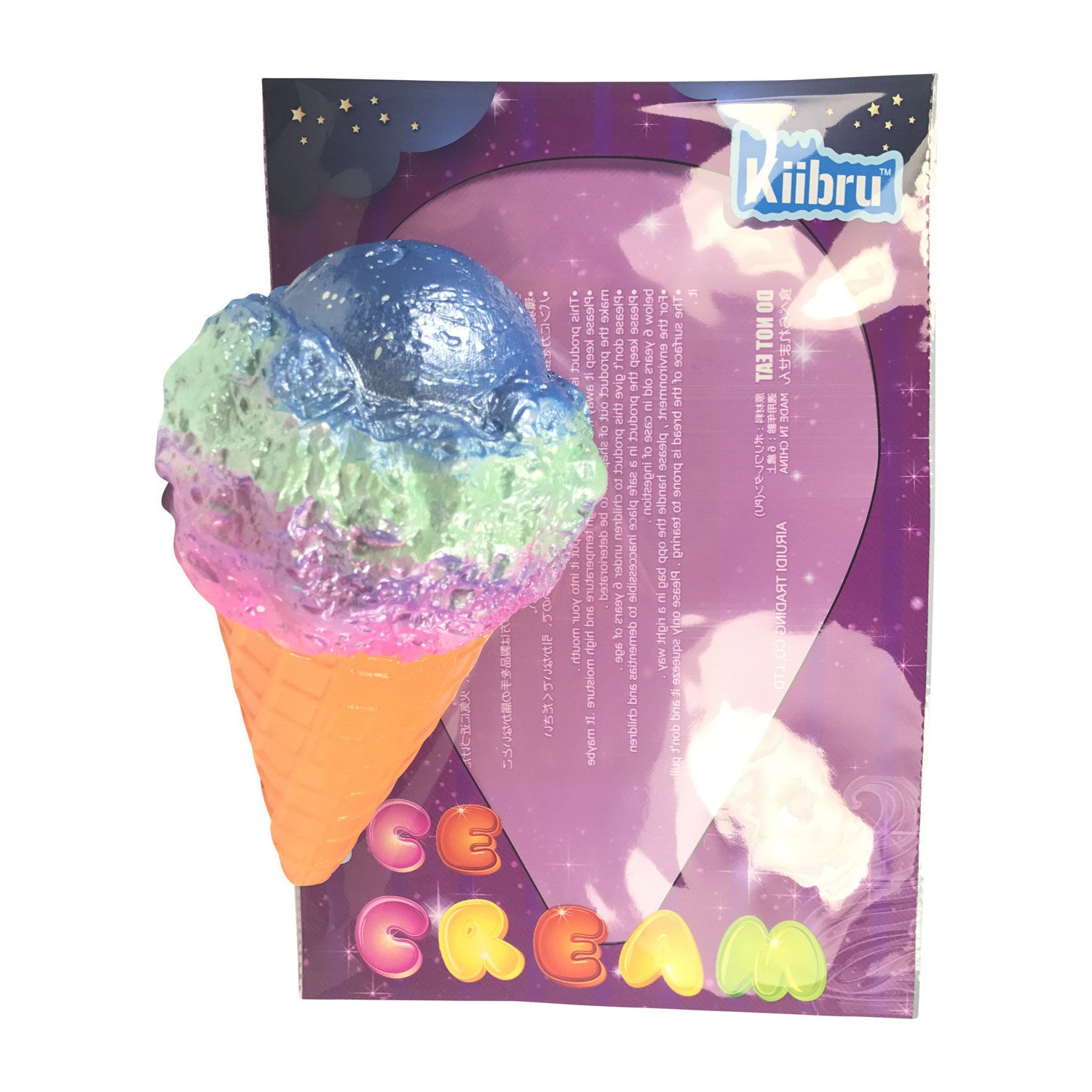 SUPER Slow Rise Colossal Kiibru SCENTED Ice Cream Cone!