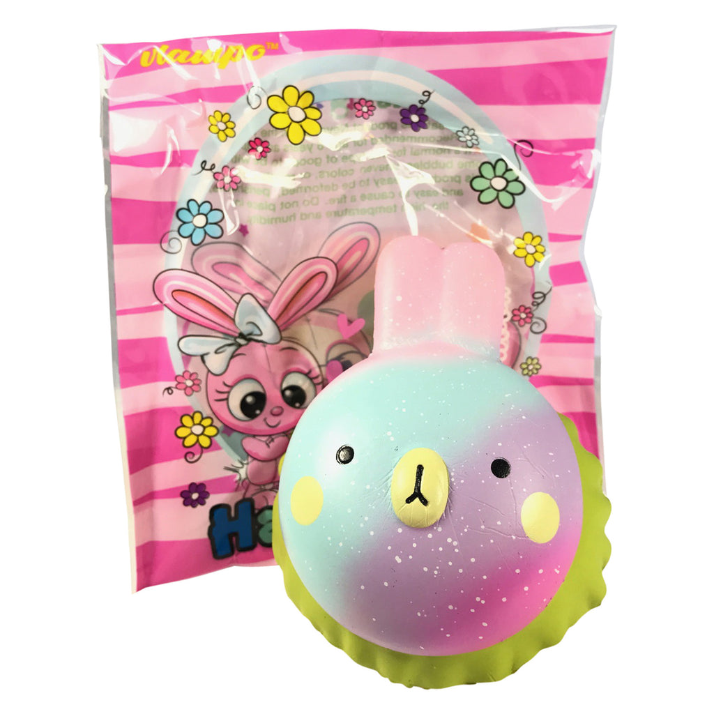 SUPER Slow Rise Vlampo Happy RABBIT HAMBURGER! SCENTED!