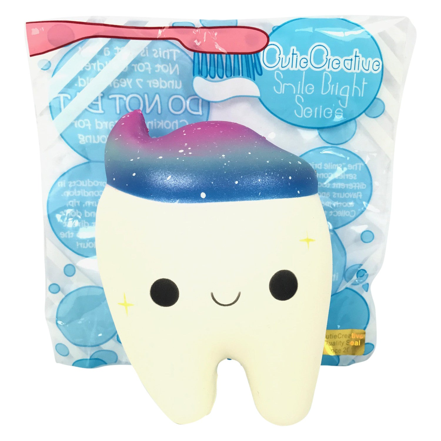 Squishy Galaxy Tooth : SCENTED Cutie Creative Galaxy Tooth! Jenna Lyn Squishies and Accessories