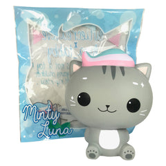 Cutie Creative and Luna Tabby SCENTED Minty Luna Squishy!