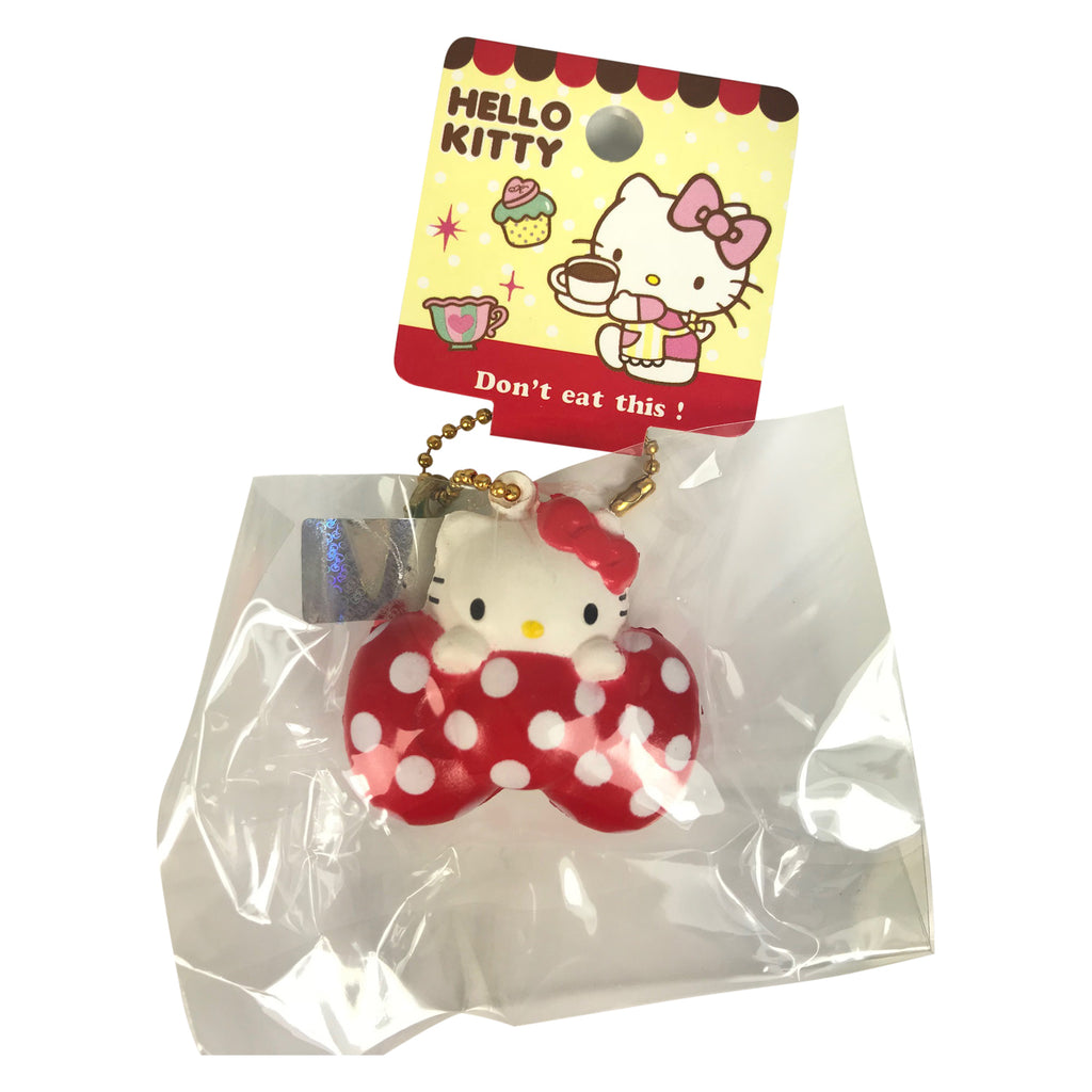 Squishy Hello Kitty MINI Bow Charm!