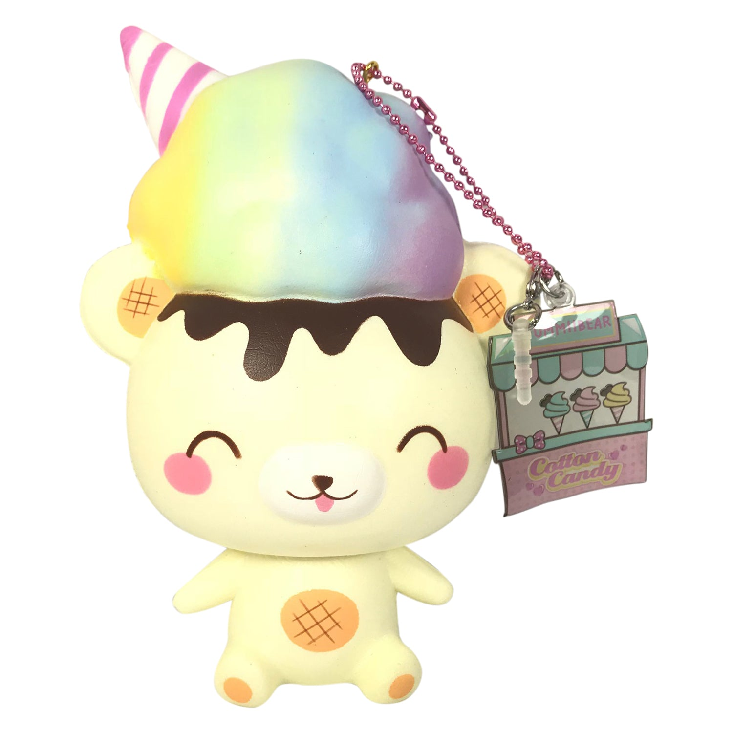 Squishy Yummiibear : Rare, LIMITED Fairy Floss Cotton Candy SCENTED YUMMIIBEAR Squishy! Jenna Lyn Squishies and ...
