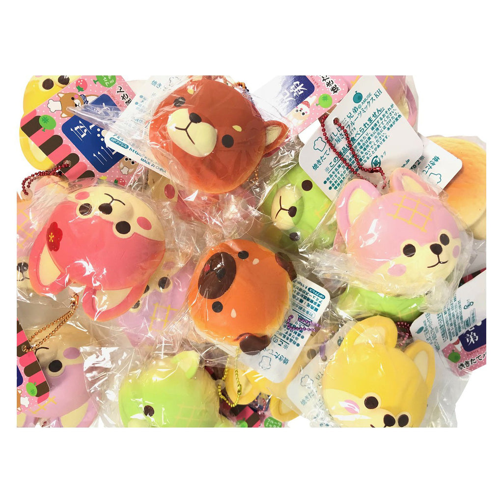 Mini ADORABLE Puppy Bread Bun Squishy from Japan! Bakery Mameshiba BLIND BAG!