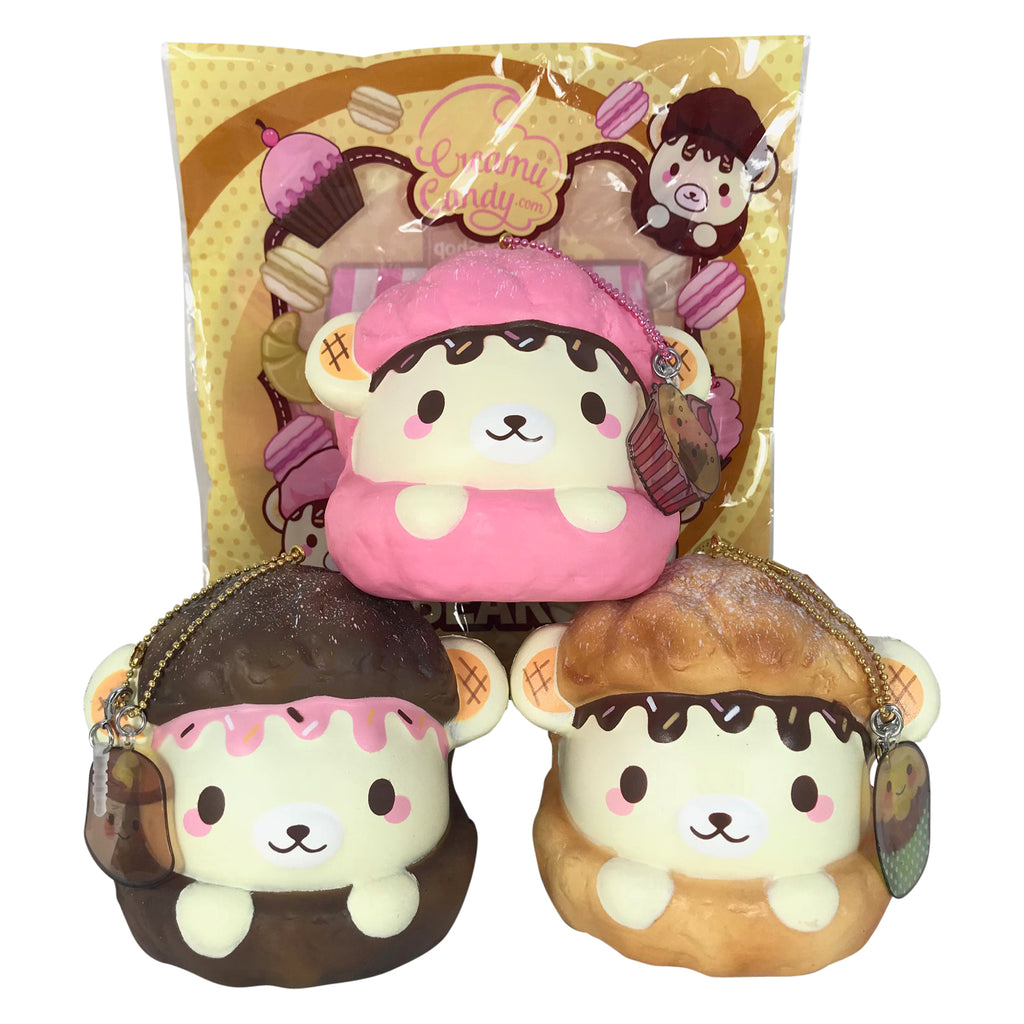 SCENTED Cream Puff Cookie YUMMIIBEAR Squishy!