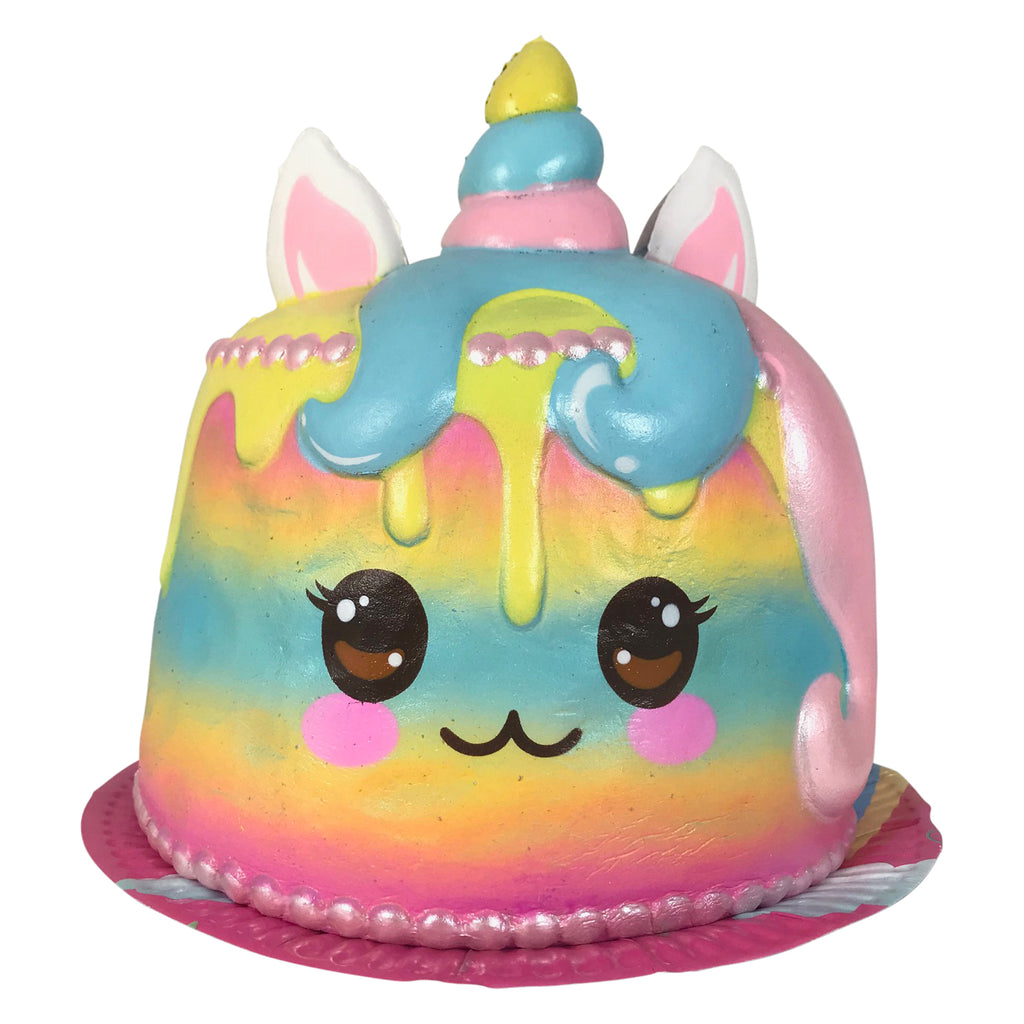 Puni Maru JUMBO Rainbow UNICORN Cake! SCENTED! *As Is - Special DEAL!!*
