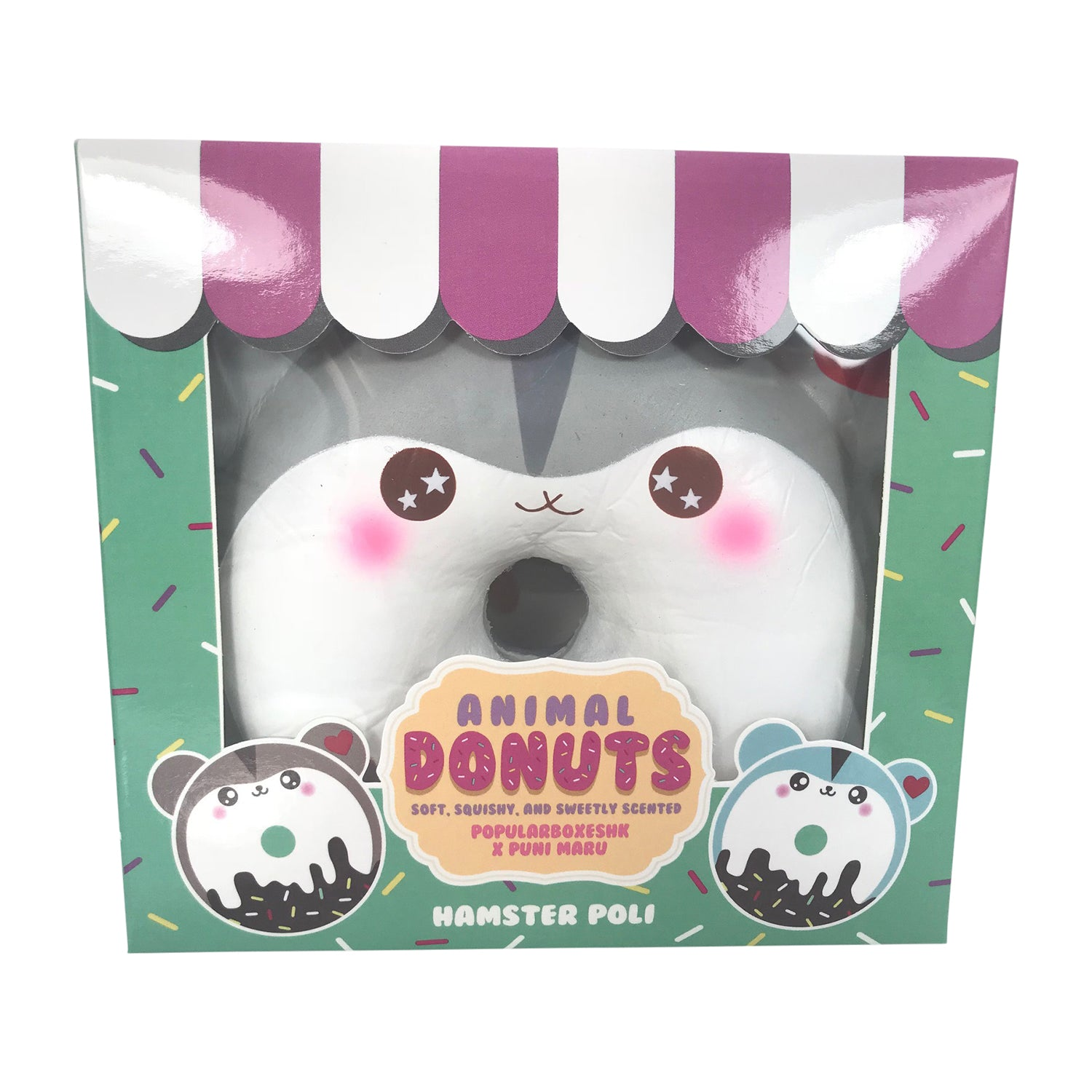 Puni Maru and PopularBoxesHK POLI Donut SCENTED Squishy!