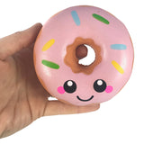 Kawaii Face and Super Squishy Scented Donut!