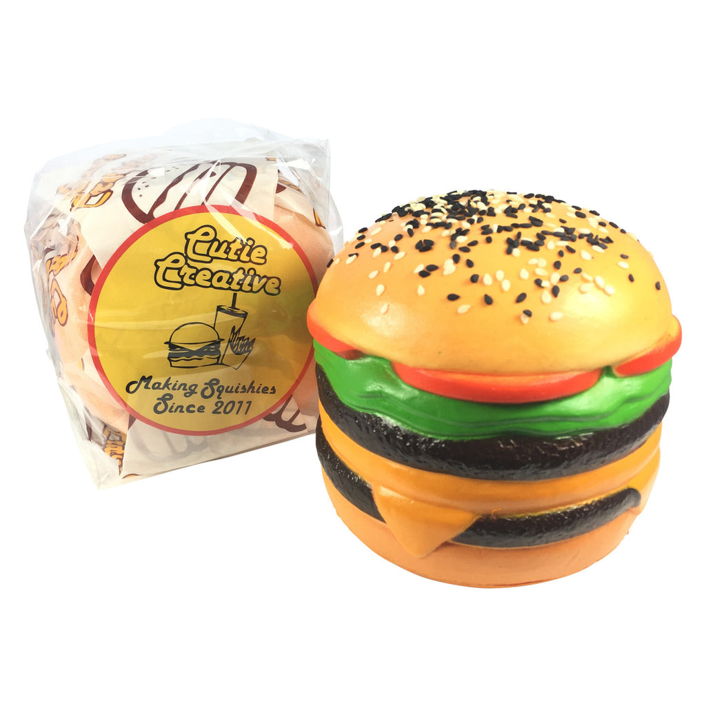 SUPER Slow Rise Cutie Creative BURGER & Mini Burger! SCENTED!