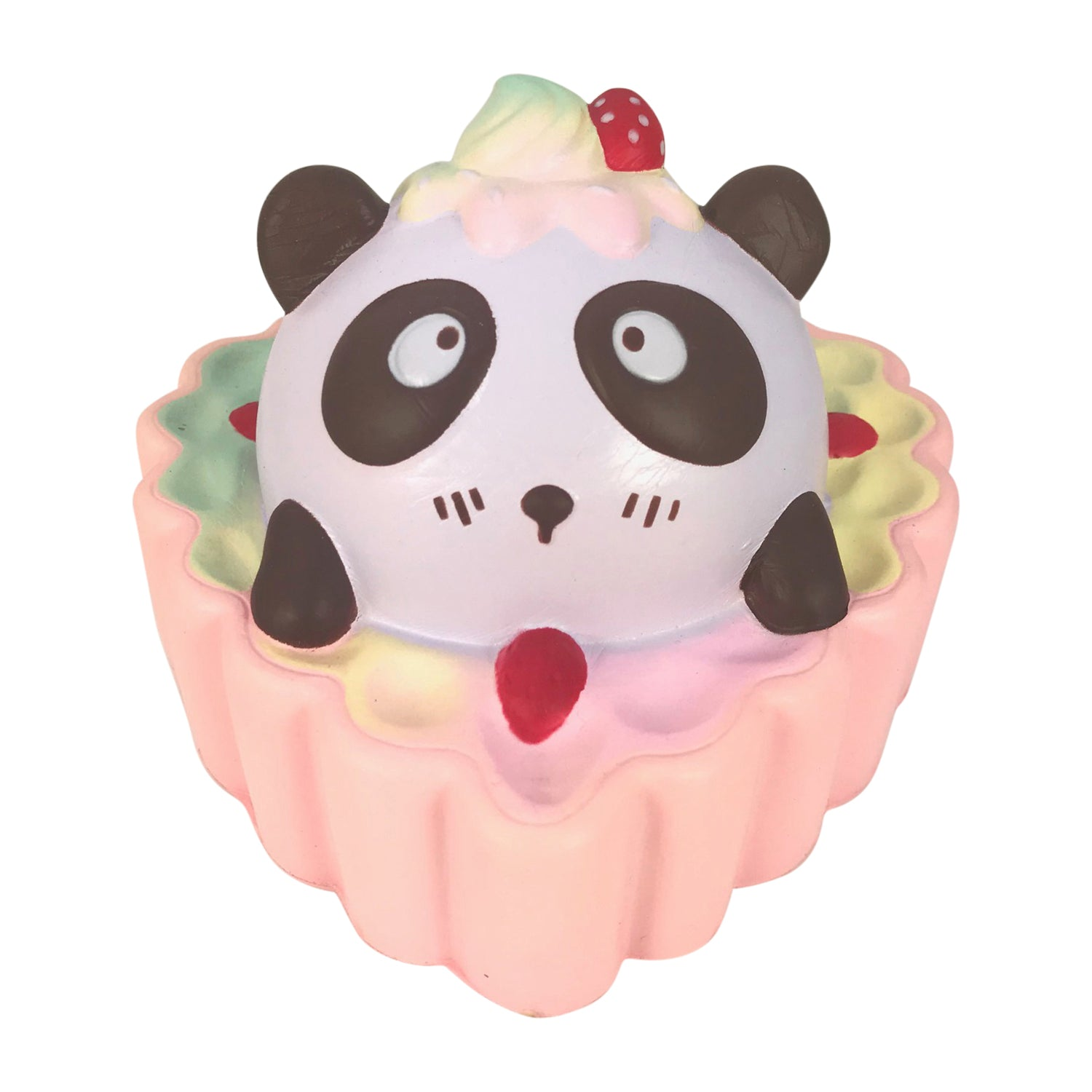 SCENTED Heart Sweet PANDA Fruit TART Squishy!