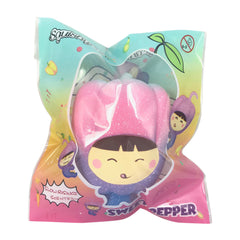 SCENTED Sweet PEPPER Galaxy Girl Squishy!