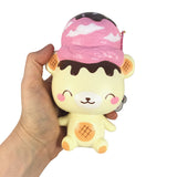SCENTED Strawberry YUMMIIBEAR Ice Cream SCOOP!