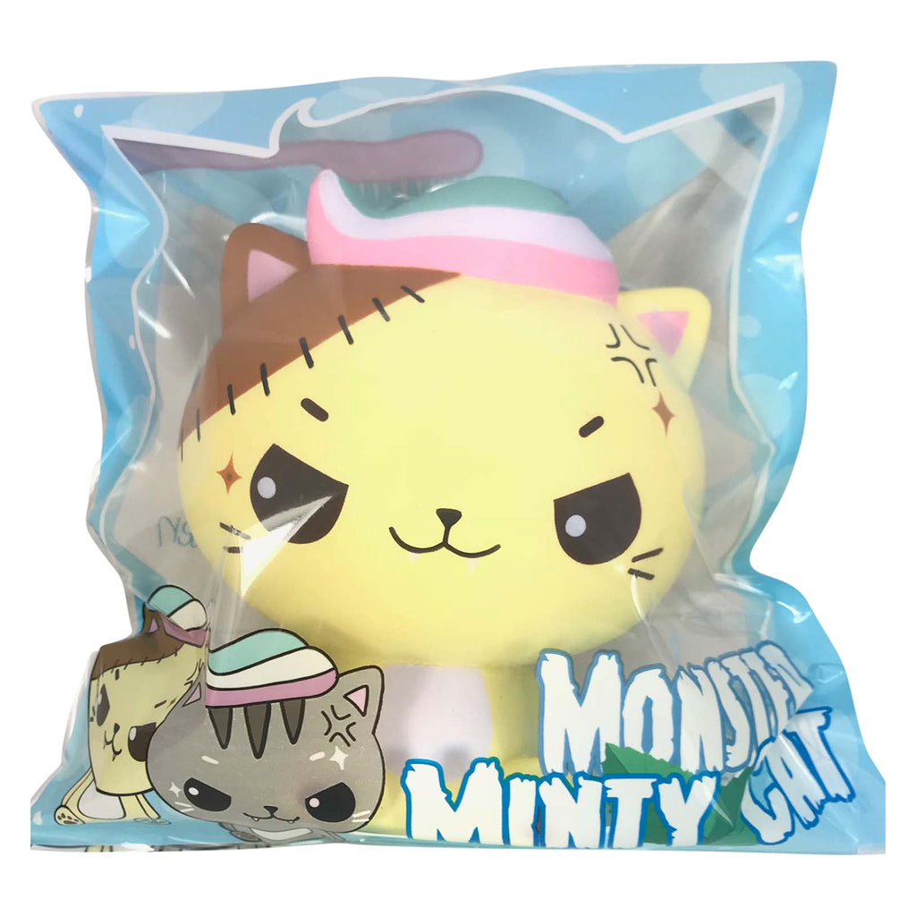 BIG Cutie Creative & Luna Tabby SCENTED Monster Minty Cat Squishy!