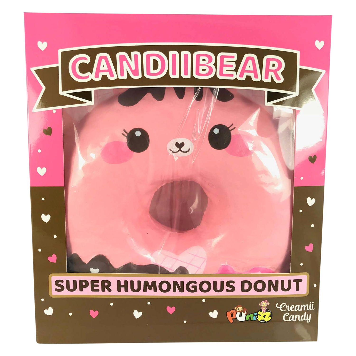 ***LIMITED - AS IS, DEFECTED - FINAL SALE!*** SUPER HUMONGOUS CANDIIBEAR DONUT...HUGE, Jumbo Squishy! ENORMOUS