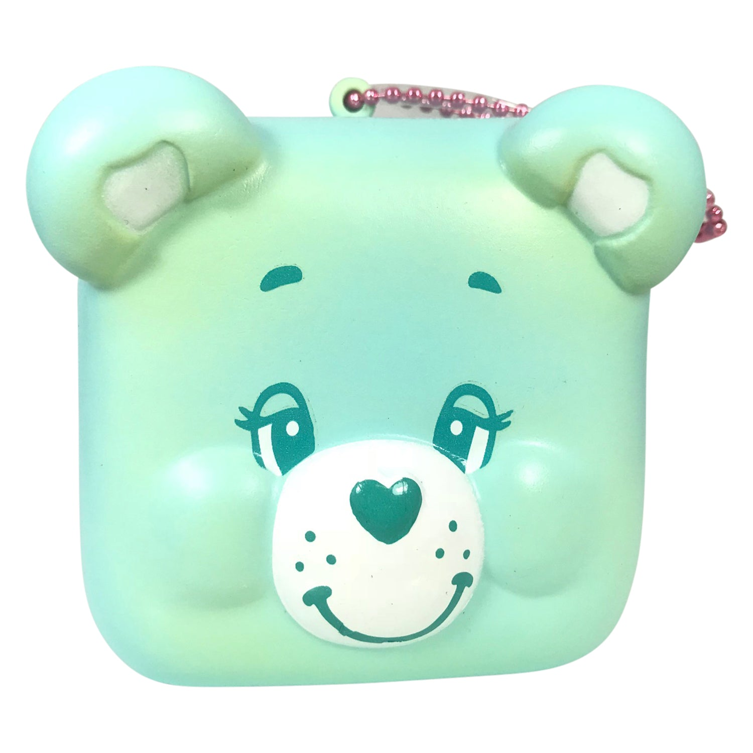 SUPER Cute Care Bear Head Squishy Mascot!