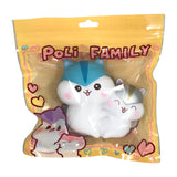 SLOW RISING, ADORABLE Poli Family!