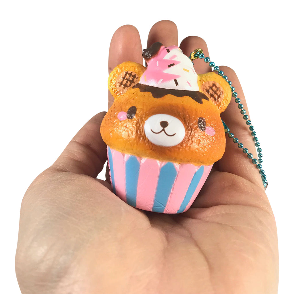 Super MINI Sweets Collection Slow Rise SCENTED Yummiibear Cupcake!