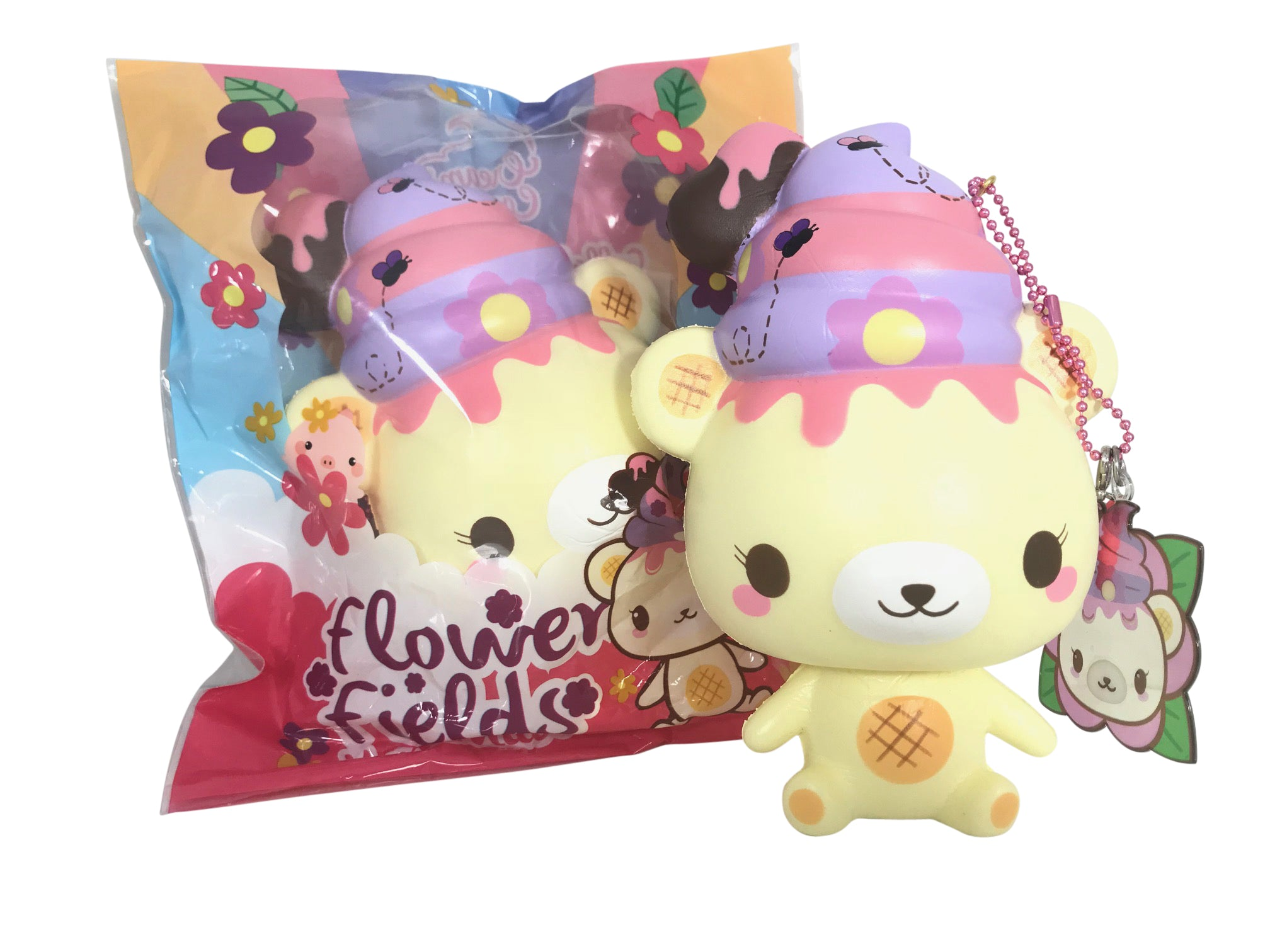 Floral SCENTED Flower Fields YUMMIIBEAR Squishy!