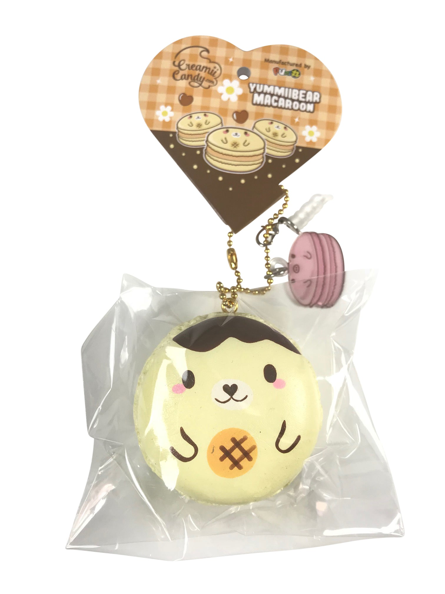 Mini, SCENTED, Licensed, Yummiibear Macaron Squishy!