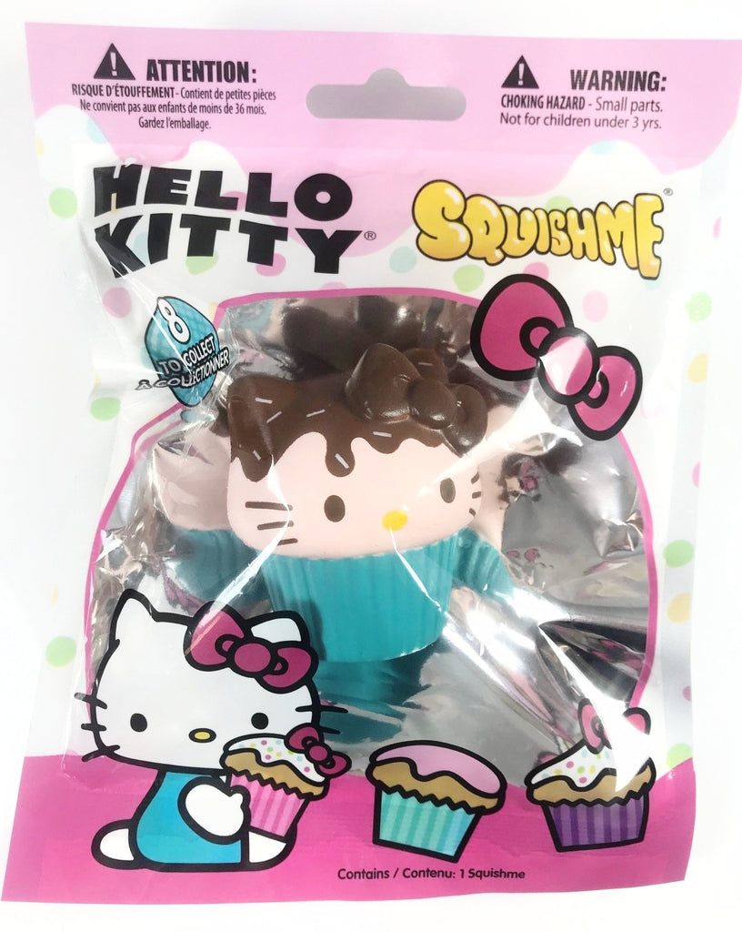 Hello Kitty MINI Squish Me CUPCAKE!